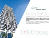 Mở bán căn hộ cao cấp Tokyo Tower - 55 Vạn Phúc bàn giao sổ đỏ quý IV/2017