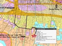Đất Vĩnh Thanh, Nhơn Trạch 1121m2 CLN hẻm xe hơi, xe chở VLXD vào tận đất.