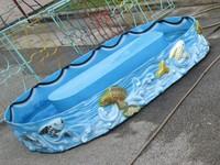 Bể câu cá trẻ em hình elip có hệ thống điện
