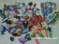 Cá nhựa cho khu vui chơi