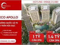 Tôi cần bán căn 3PN, 73m ban công ĐN giá 1,4 tỷ  nội thất,Chung cư Hateco Xuân Phương