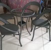 1 Bàn ghế cà fe giá rẻ nhất Sài Gòn