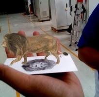 8 Thẻ 4D, Thẻ thực tế ảo 4D , thẻ động vật thực tế ảo 4D