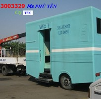 5 Nhà vệ sinh di động composite giá rẻ công ty Thành Phố Xanh - TPX