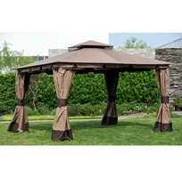 7 Nhà bạt di động khung nhôm nhập khẩu cho sân vườn và hội nghị ngoài trời.