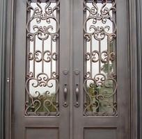 14 Cửa sổ sắt, cửa sổ đẹp, cửa đi sắt