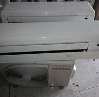 Bán máy lạnh cũ toshiba RAS-18N3K-V còn mới 98   hình thật