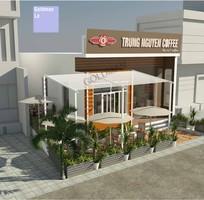2 Thiết kế quán cafe, ngoại thất