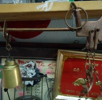 13 Đèn măng xông xưa AI DA của Đức,đèn treo,đèn dầu.,đồng hồ dây cót