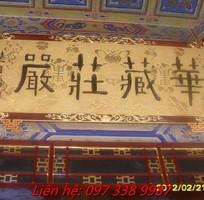8 Hoành Phi-Câu Đối-Cuốn Thư-Cửa Võng-Xưởng Sản Xuất Đồ Thờ Tượng Phật Sơn Đồng