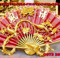 9 Hoành Phi-Câu Đối-Cuốn Thư-Cửa Võng-Xưởng Sản Xuất Đồ Thờ Tượng Phật Sơn Đồng