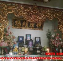 19 Hoành Phi-Câu Đối-Cuốn Thư-Cửa Võng-Xưởng Sản Xuất Đồ Thờ Tượng Phật Sơn Đồng