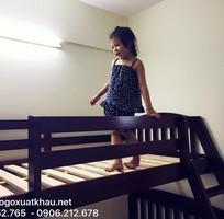 4 Bán giường 2 tầng trẻ em gỗ tự nhiên tại quận 5 tphcm