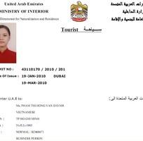 Visa đi Dubai 120 , Visa Du lịch Dubai, Visa Thương mại Hội chợ,Tour Dubai Công Ty chuyên ve Ảrap
