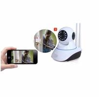 7 Camera ip wifi không dây, trong nhà và ngoài trời. Quay 360 độ. Giá chỉ 490k/bộ