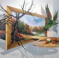 6 Vẽ tranh tường chuyên nghiệp giá rẻ nhất tại tphcm