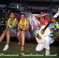 1 Ban nhạc Flamenco TUMBADORA BAND vui nhộn cho Tour du lịch của quý vị