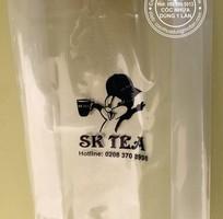 2 Chuyên sx và in túi nilon đựng cốc trà sữa