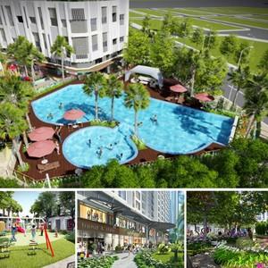 Căn hộ cao cấp, khu trung tâm, dọc sông Hàn, view cầu Rồng, chỉ từ 1.4 tỷ/căn