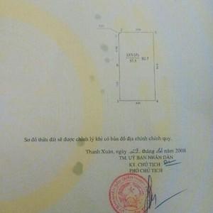 Cần bán nhà ngõ 145 Phố Quan Nhân, Sổ đỏ chính chủ.
