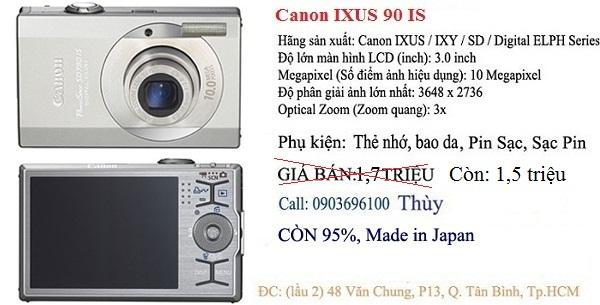 3 Bán máy ảnh giá rẻ kts