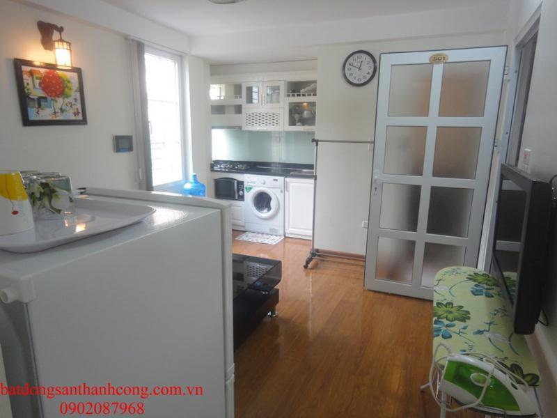 12 Cho thuê căn hộ dịch vụ cao cấp đầy đủ tiện nghi phố Đường Thành Hàng Da