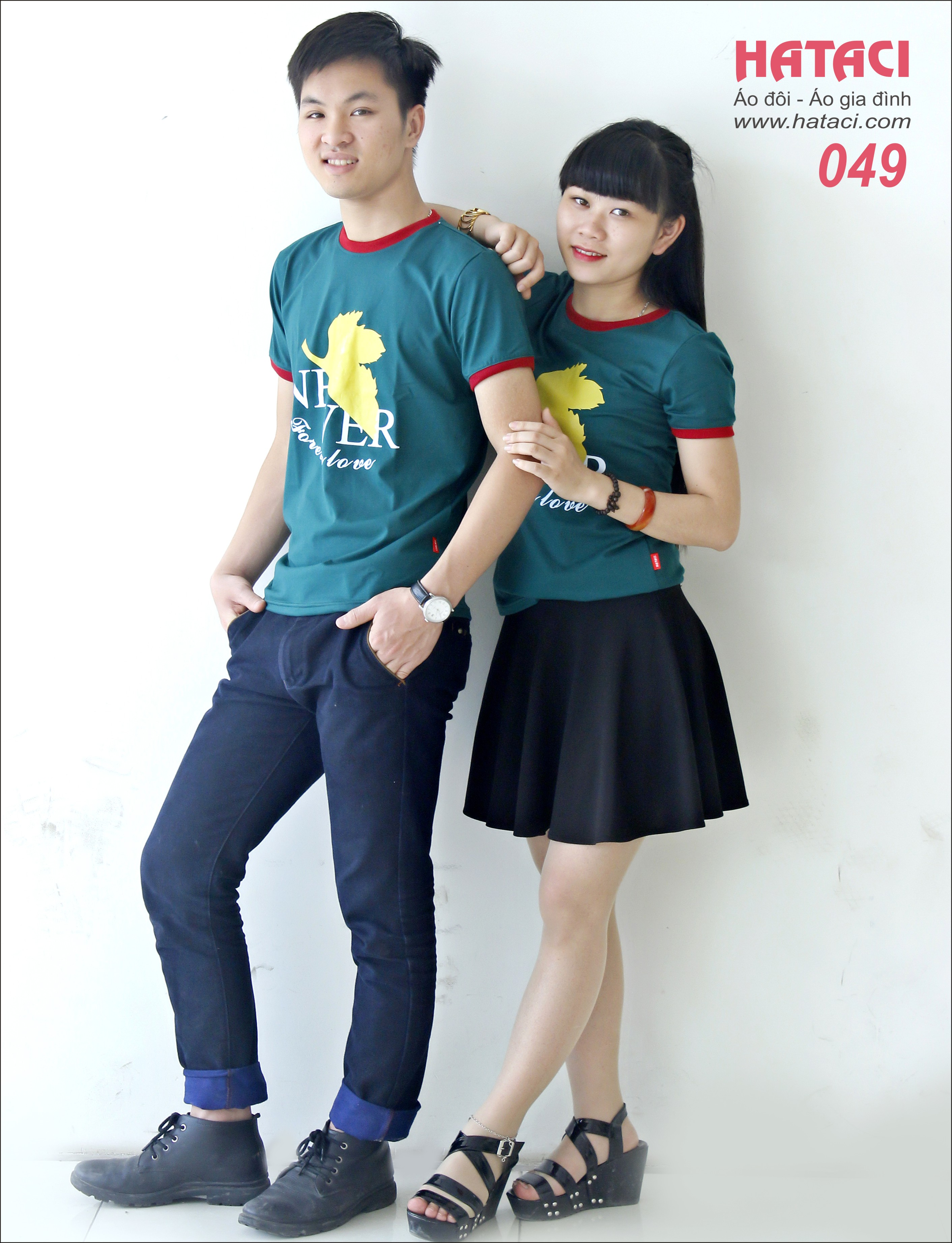 7 Mua áo đôi cửa hàng Hataci 191 Bạch Mai , Hà Nội
