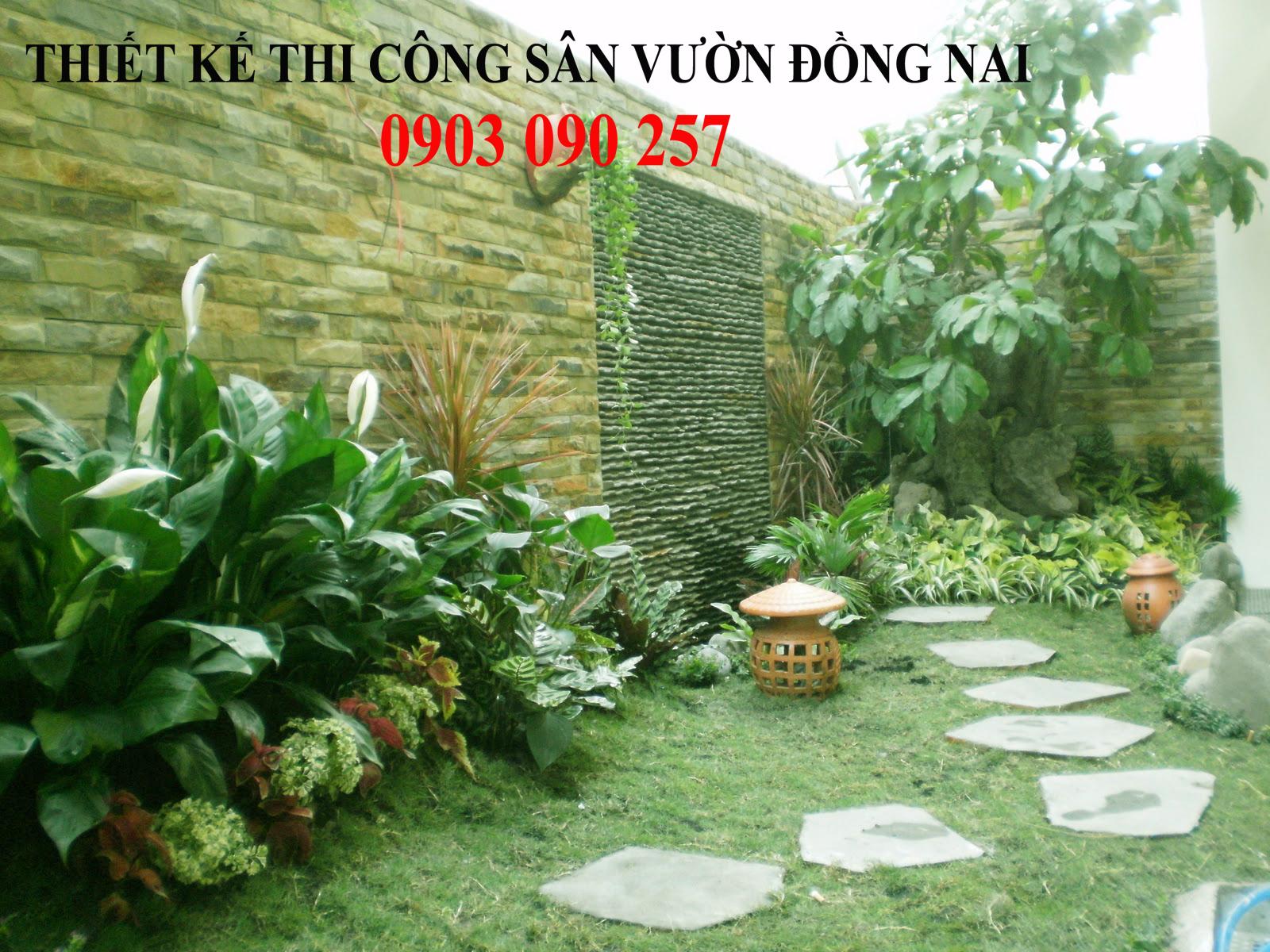 1 Thiết kế - Thi công - Bảo dưỡng duy trì cây xanh Đồng Nai