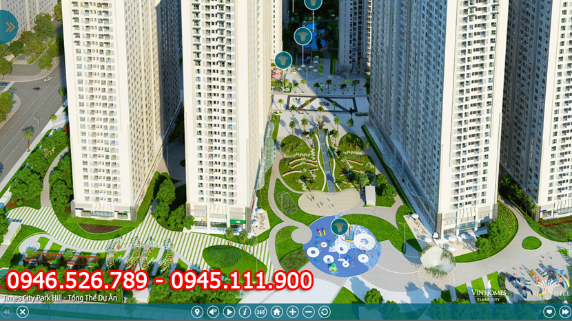 4 Chung cư Times City Parkhill, Park 7,8 - suất Vip dành cho khách hàng, 0946526789