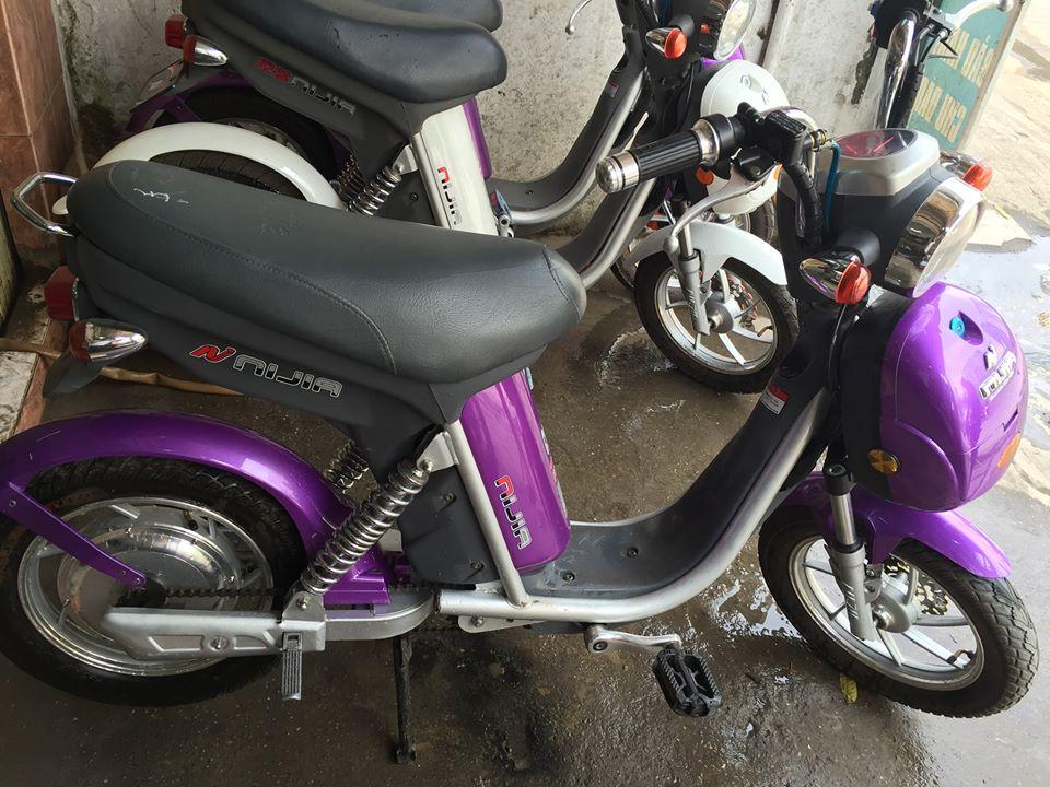 4 Bán thanh ly 10 xe đạp điện Nijia