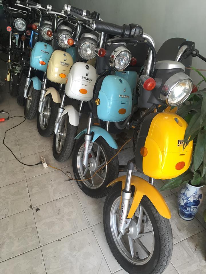 6 Bán thanh ly 10 xe đạp điện Nijia