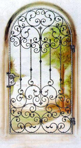 1 Cửa sổ sắt, cửa sổ đẹp, cửa đi sắt