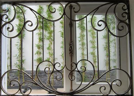 9 Cửa sổ sắt, cửa sổ đẹp, cửa đi sắt
