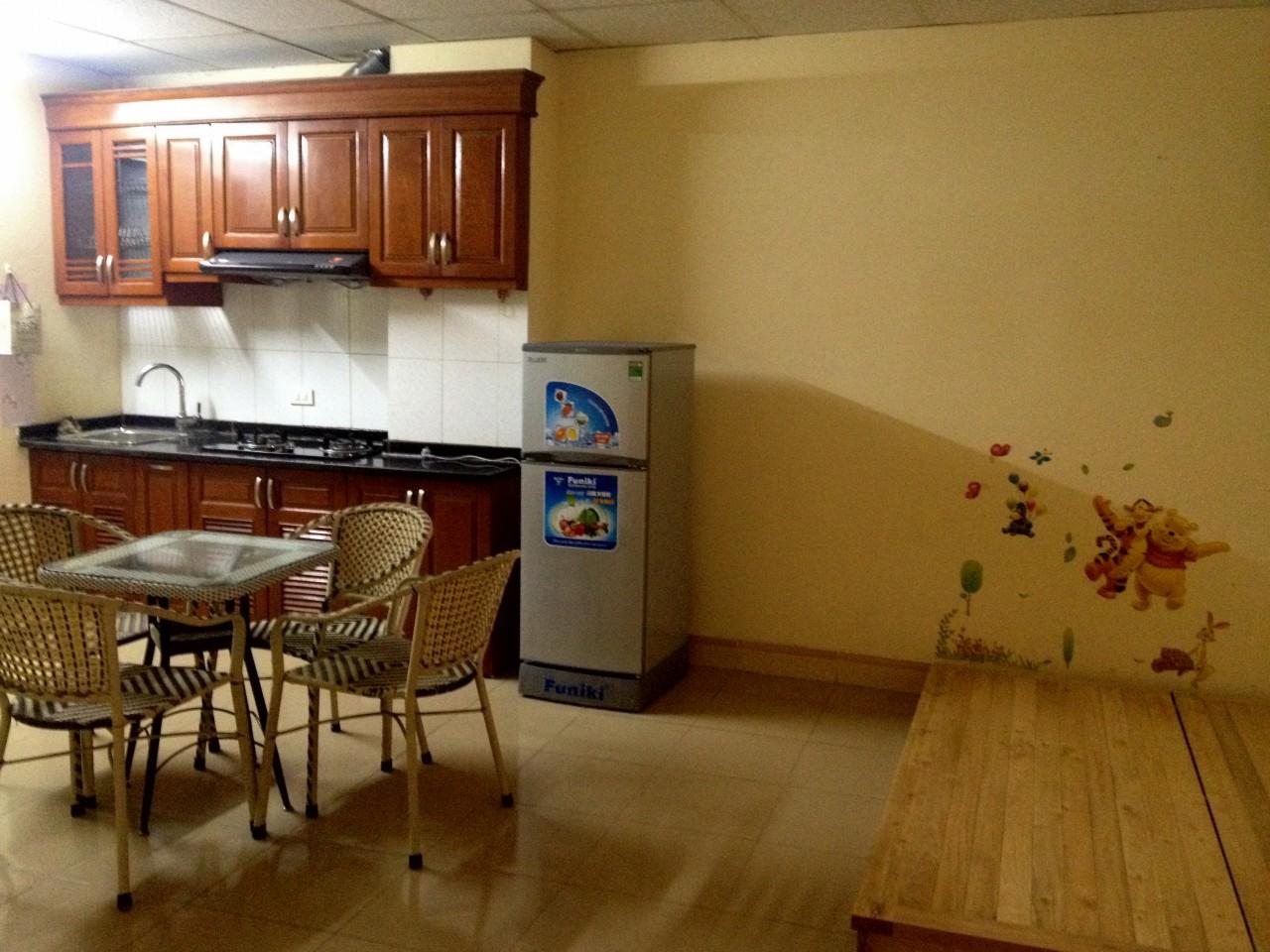Cho thuê chung cư mini Thái Hà- Hoàng Cầu