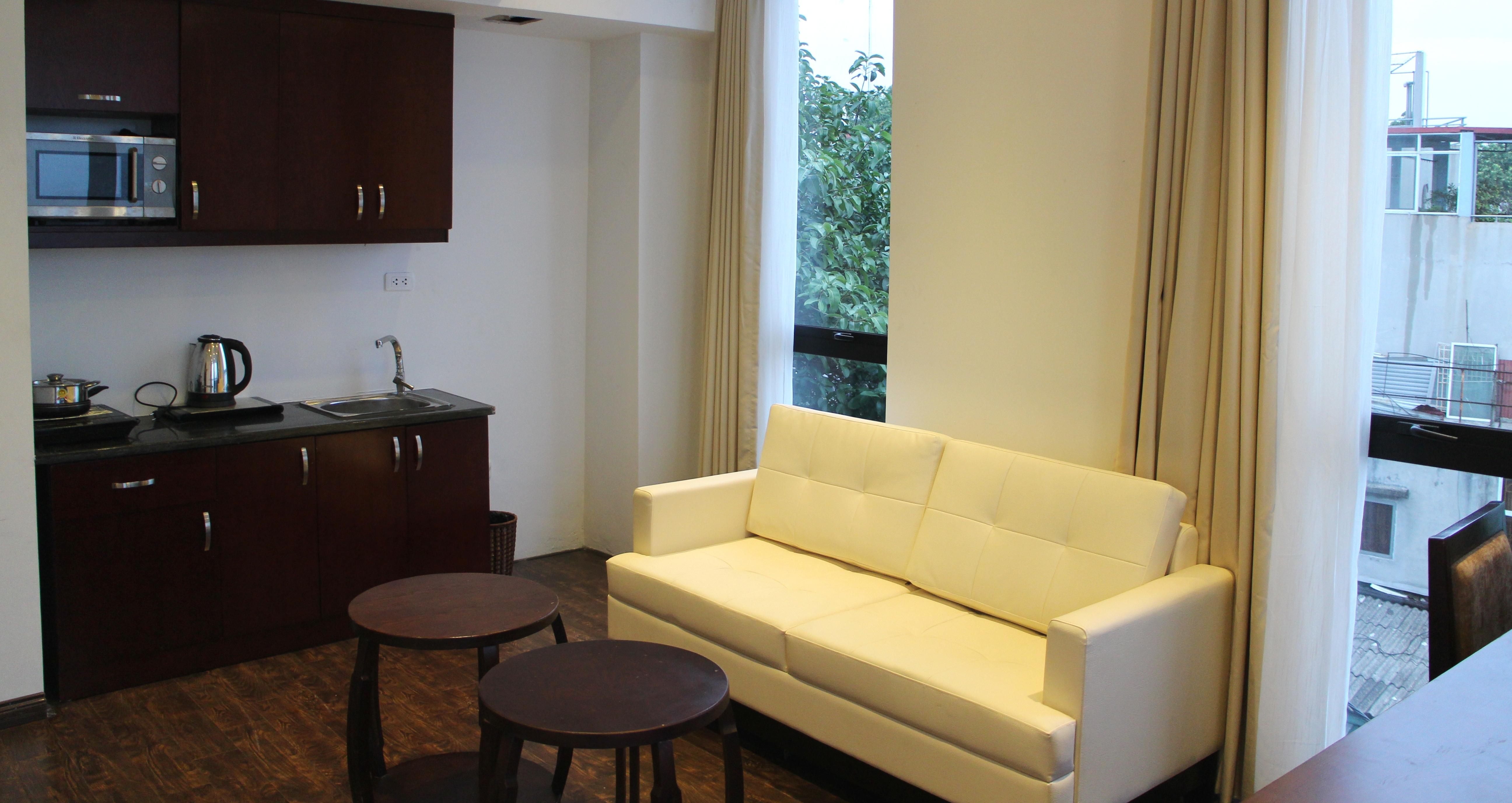 Cho thuê căn hộ dịch vụ quận Tây Hồ gần Ba Đình, Cầu Giấy,