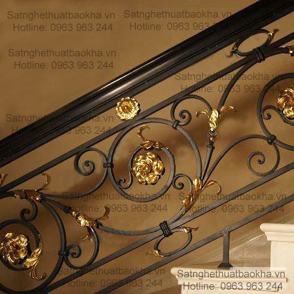 7 Cầu thang sắt đẹp,sắt mỹ thuật giá rẻ đây