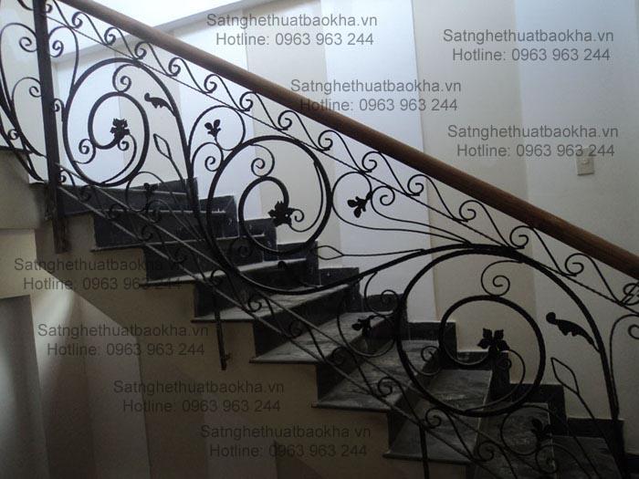 13 Cầu thang sắt đẹp,sắt mỹ thuật giá rẻ đây