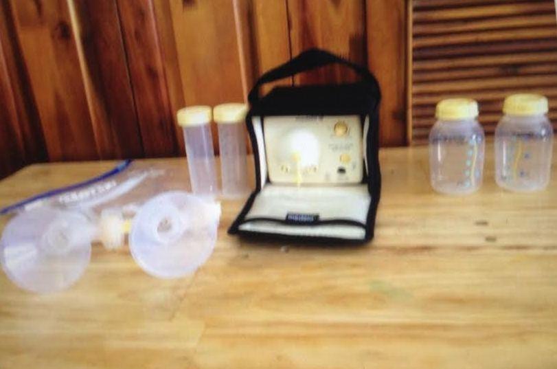 Thanh lý máy hút sữa medela pump đôi