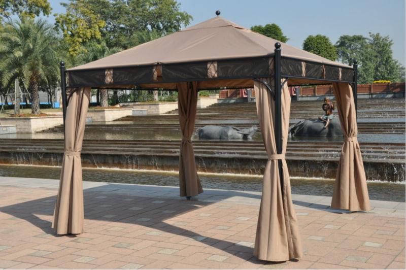 3 Gazebo: Phong cách mới cho sân vườn lãng mạn