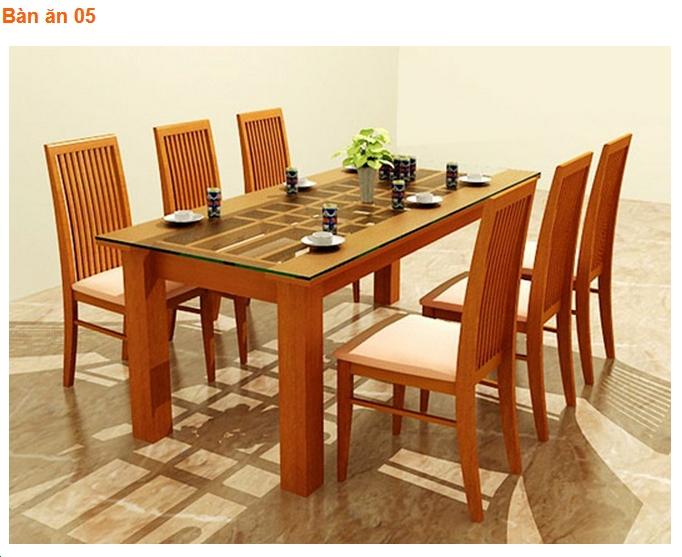 6 Bàn ăn gia đình đẹp, bàn ăn gia đình giá rẻ