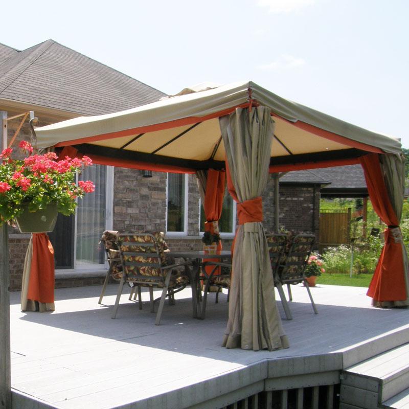 3 Nhà bạt di động khung nhôm nhập khẩu cho sân vườn và hội nghị ngoài trời.