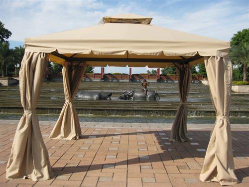 6 Nhà bạt di động khung nhôm nhập khẩu cho sân vườn và hội nghị ngoài trời.