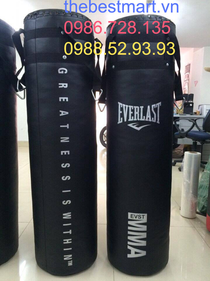 4 Bao đấm Evelast, bao cát chuyên nghiệp ,bao đấm loại đặt, bao đấm 1,5 m , bao boxing 1, 8m Fairtex