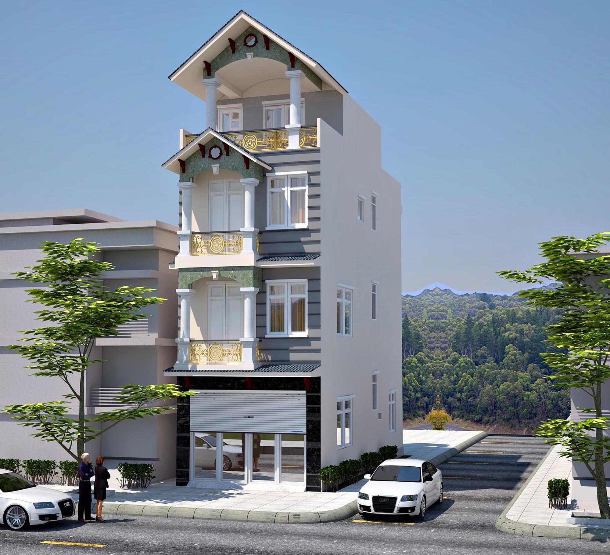 4 Thiết Kế Nhà Tại Vĩnh Phúc giá 50.000đ, Thiết kế nhà đẹp ở Vĩnh Phúc Vĩnh Yên