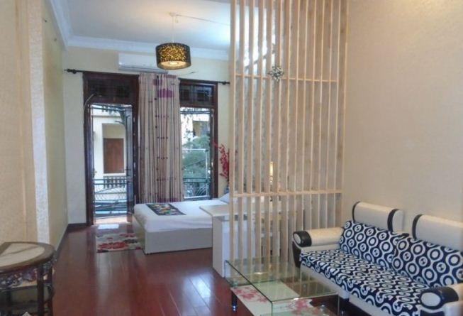 1 Cho thuê căn hộ dịch vụ đầy đủ tiện nghi phố hoa lư - vân hồ