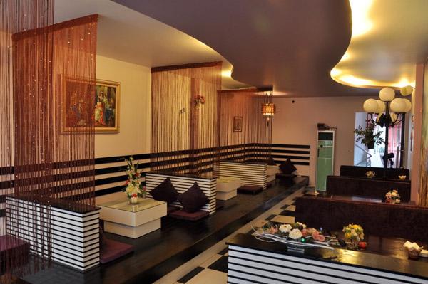 6 Thiết kế nội thất nhà hàng giá rẻ tại hà nội, Thiết kế nội thất Quán Cafe Karaoke