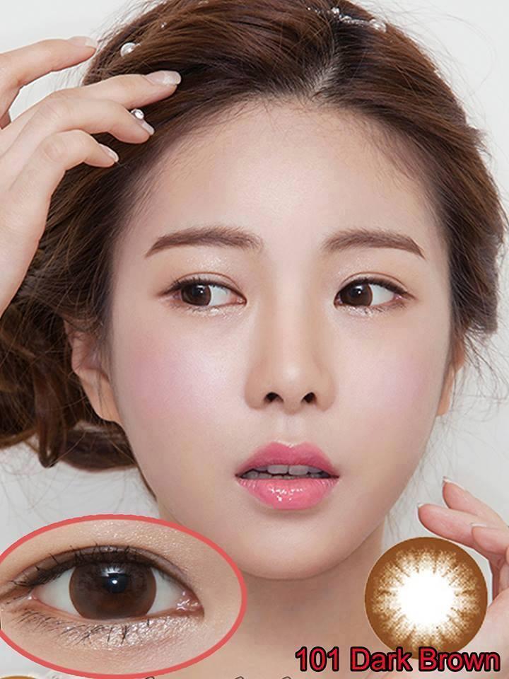 2 Kính giãn tròng TinTin Hàn Quốc