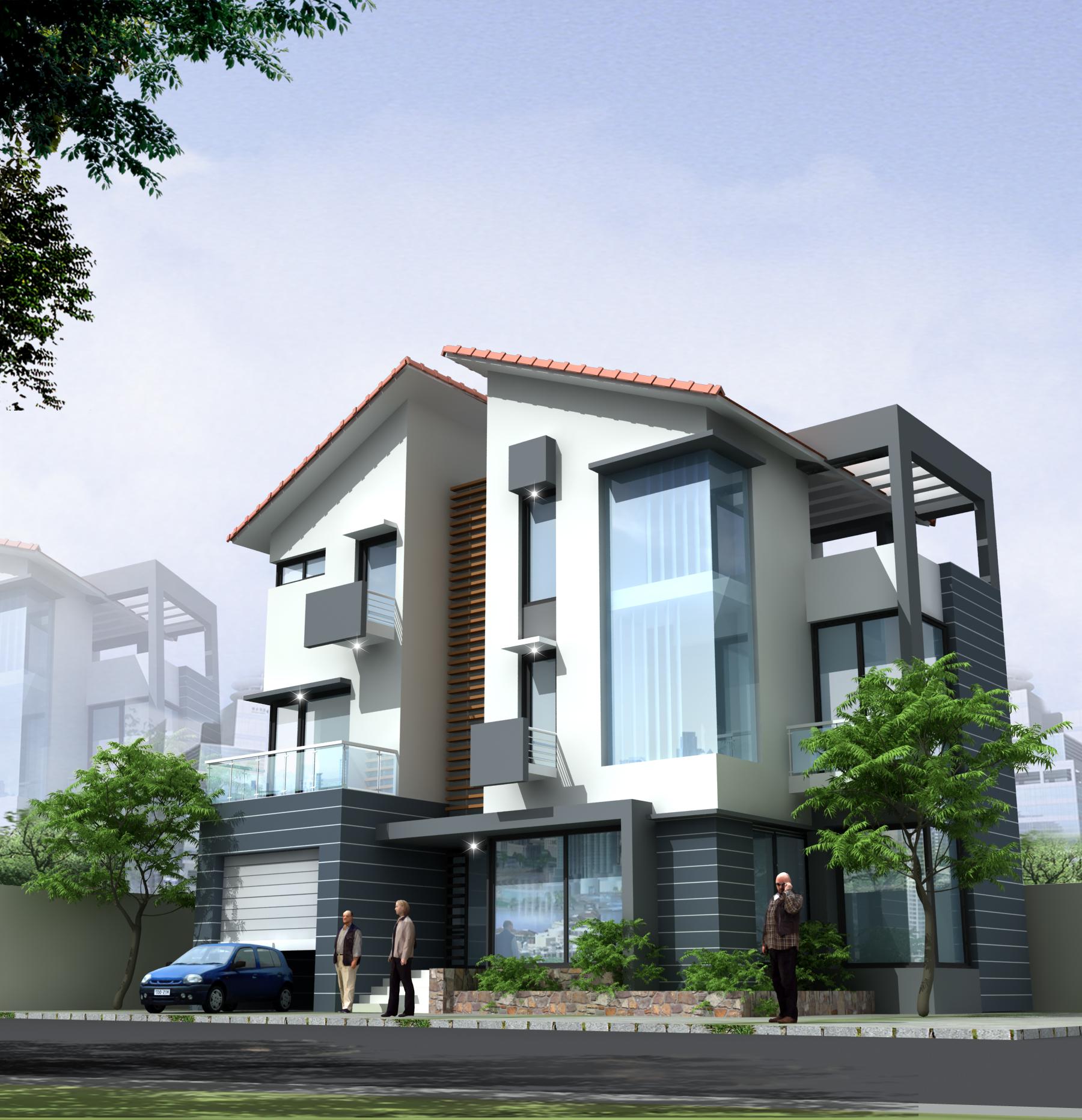 2 Thiết Kế Nhà tại Hải Phòng 45.000đ, Nhận Thiết kế nhà đẹp giá rẻ ở Hải Phòng