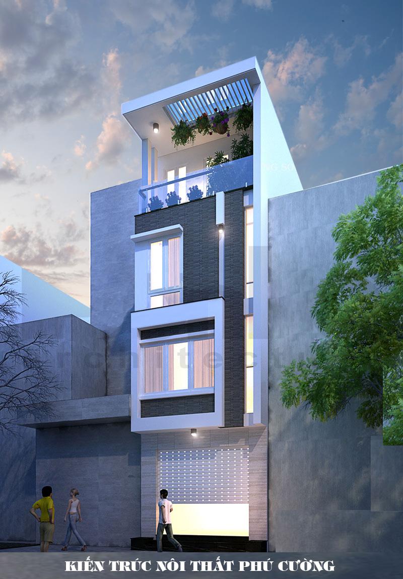 8 Thiết Kế Nhà Ống Tại Hà Nội 45.000đ, Thiết kế nhà ống đẹp ở Hà Nội Giá Rẻ