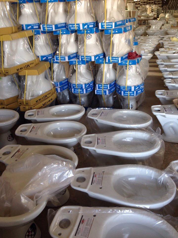 9 Xả kho thiết bị vệ sinh,bệt xí xổm,bệt chậu rẻ nhất Hà Nội giá chỉ từ 580-700K